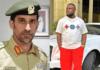 L-R: Dubai's Police's Commander-in-Chief, Abdullah Khalifa Al Marri & Hushpuppi