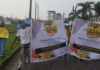 Some group of Nigerians took the streets of Lagos to protest the killing of George Floyd