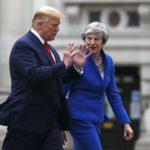Trump and Theresa May