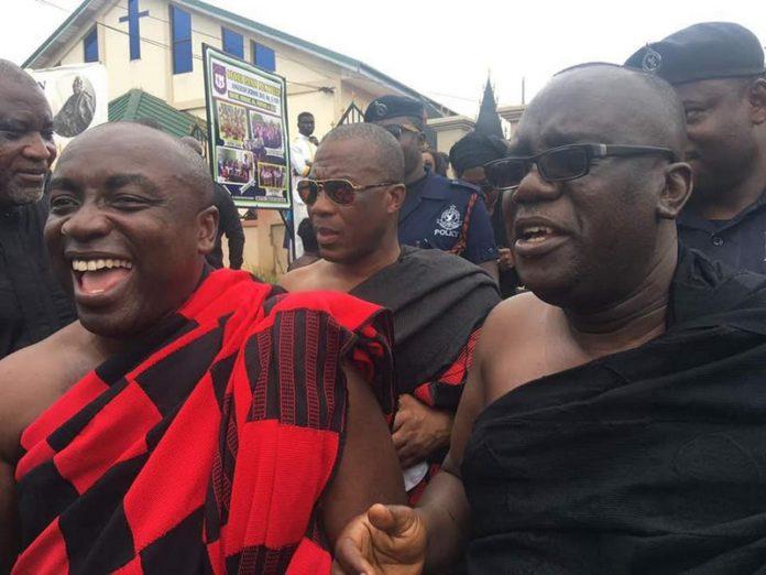 Sir John and Kwabena Agyepong
