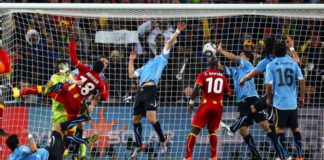 Luis Suarez said he made the 'save of the tournament'
