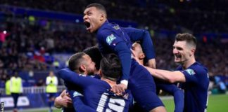 PSG were declared French champions in April