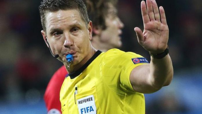 Sweden's Martin Strombergsson has worked as an international referee for many years