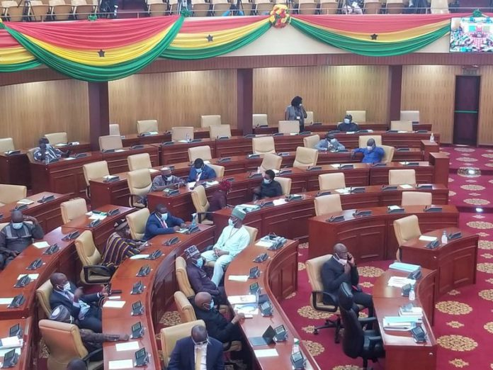 finance minister presents budget in parliament