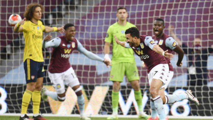 Aston Villa-Arsenal Image credit: Getty Images