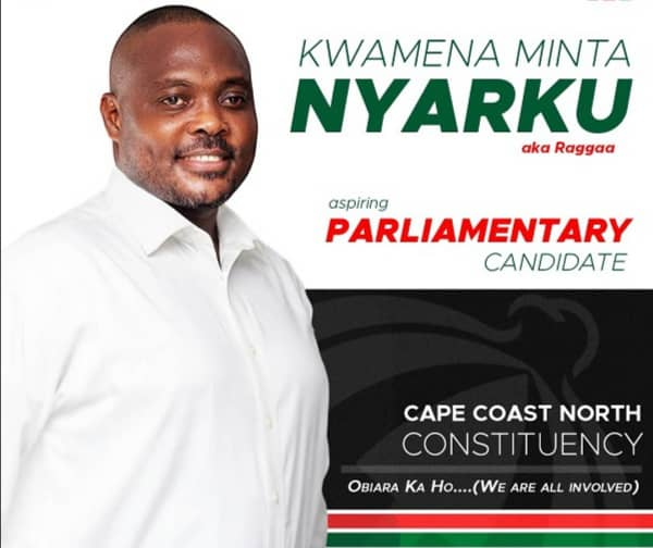 NDC parliamentary candidate for Cape Coast North Constituency, Dr Kwamina Minta Nyarku