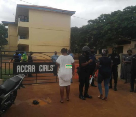 Parents troop to Accra girls to demand for their wards