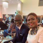 Gabby Asare Otchere-Darko and wife