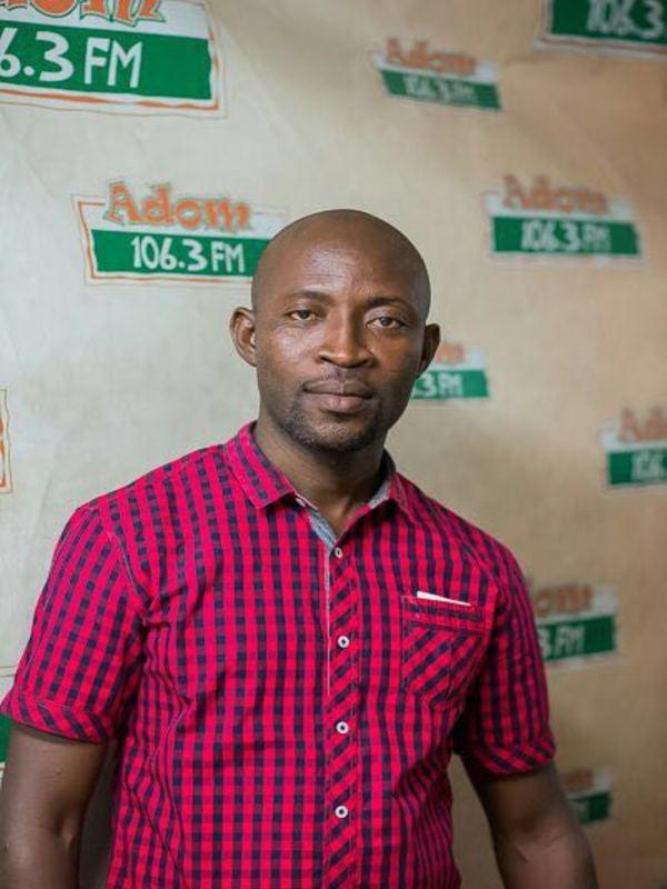 Kwadwo Mensah-Moshoosho, host of Ultimate Sports Show on Asempa FM