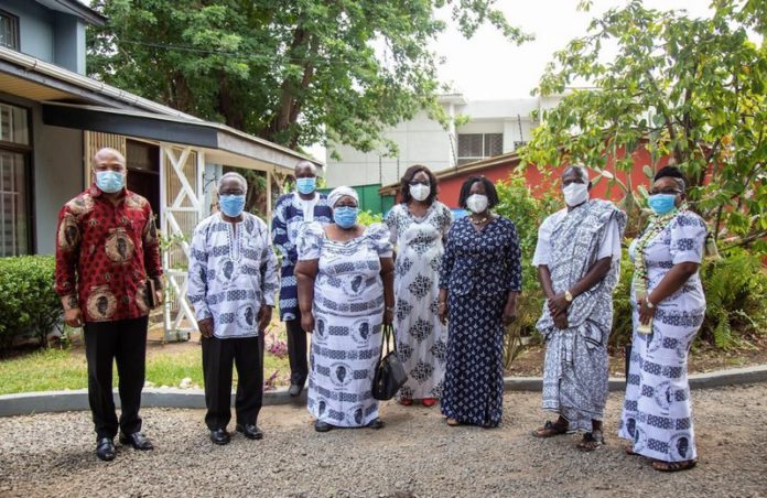 Prof Naana Opoku Agyemang meets Atta Mills family