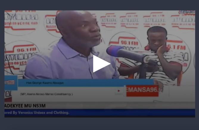 MP for Manso Asene Akroso, George Kwame Aboagye