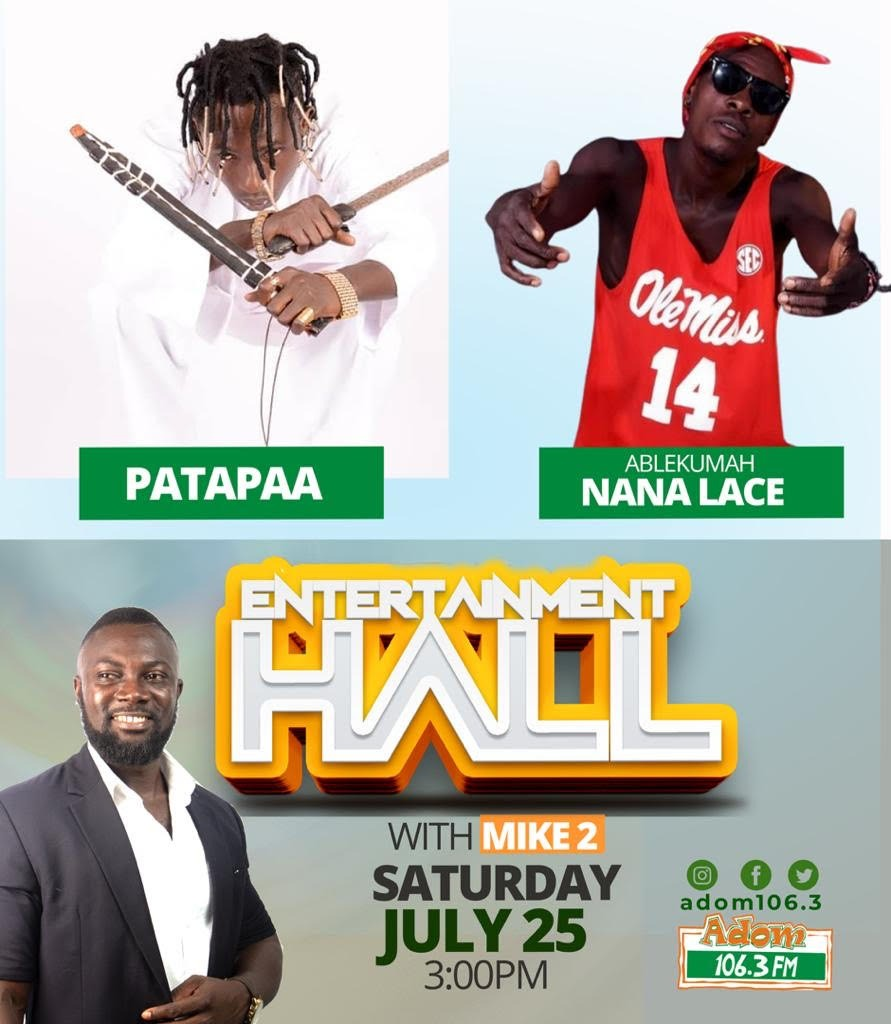 Patapaa snubs Adom FM for disrespecting him with 'underground' pairing