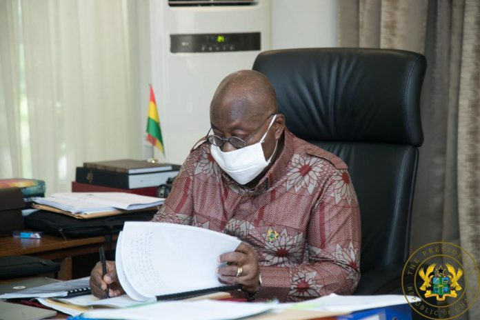 Akufo-Addo chairs 80th Cabinet meeting