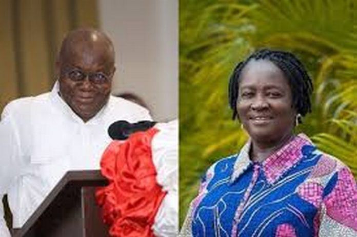 jane naana opoku agyemang and Akufo Addo