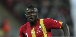 Sulley Muntari, Ghana (Photo by Mike Egerton - PA Images via Getty Images)