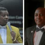 Pastor Enoch Adeboye and the sacked RCCG pastor, Gideon Bakare