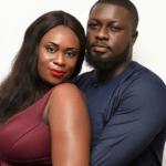 Bibi Bright and her husband, Akwasi Boateng