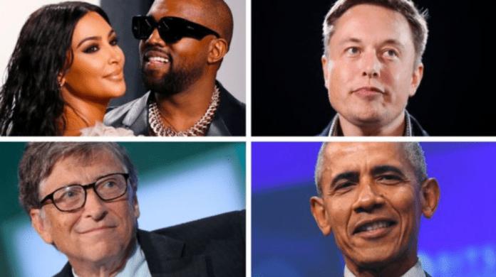 Kim Kardashian West, Kanye West, Elon Musk, Bill Gates and Barack Obama were all 'hacked'