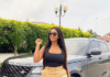 Hajia4real shows off her Range Rover