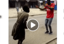"""mad woman"" dances to Stonebwoy's Putuu song"
