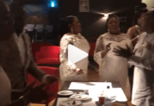 Gospel Trio Daughters of Glorious Jesus dine together with Tagoe Sisters on their 55th birthday