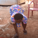 An orphan and a graduate of the Accra Technical University, Miss Delali Agbosu says one doctor's negligence made her unable to walk properly.