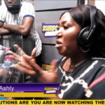 Grace Ashly begs Asamoah Gyan for a car on Asempa FM