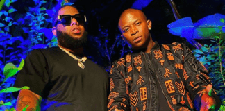 From right: OT Genasis and Ghanaian rapper D Black