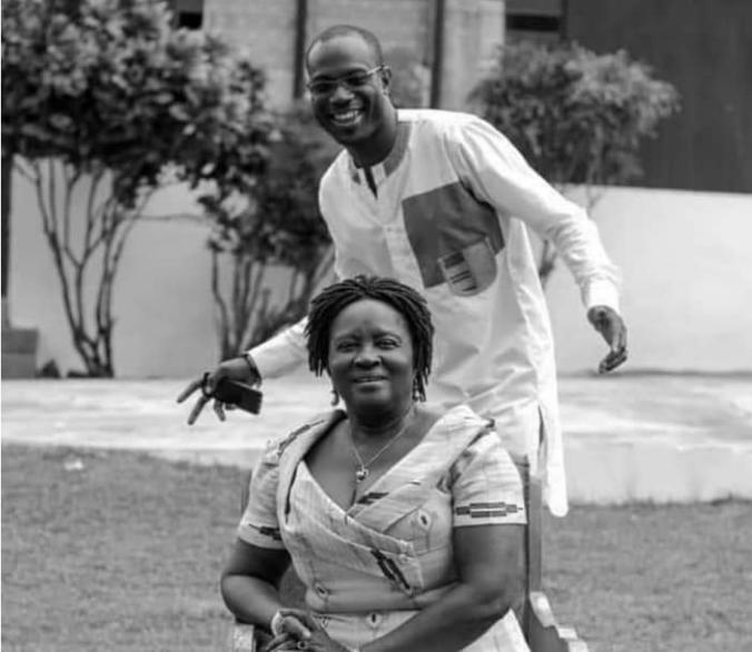 jane naana opoku agyemang and son
