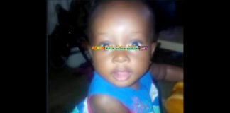 2 year old girl Mimi crashed to death in Kasoa
