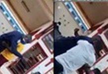 police officer slaps woman
