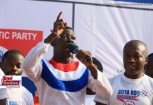 Agya Koo campaigns for NPP