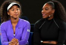 Naomi Osaka (left) and Serena Williams (right) each earned almost three times as much as the third sportswoman on the list, Ashleigh Barty