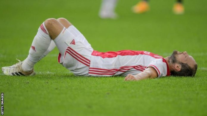 Daley Blind had been diagnosed with a heart condition in 2019