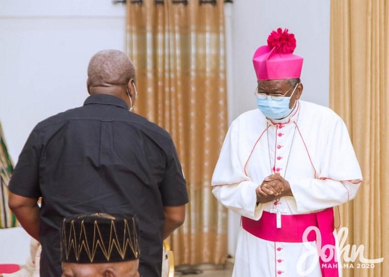 Mahama and the clergy