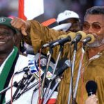 Former President, Jerry John Rawlings and Atta Mills