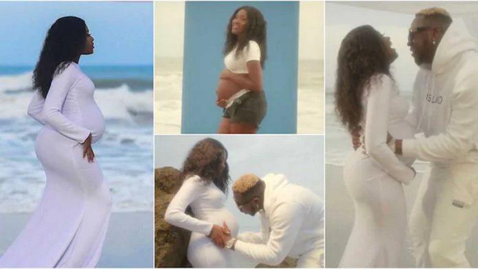 Fella Makafui pregnant