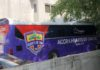 Hearts of Oak new team bus