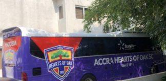 Hearts of Oak new team bus