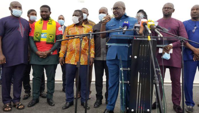 Nana Yaw Amponsah finally unveiled