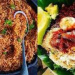 food jollof and waakye