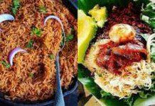 food jollof and waakye