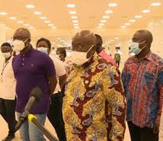 Akufo-Addo inspects work at Kotoka International Airport ahead of September 1 reopening