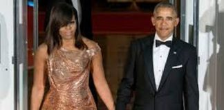 Former first lady Michelle Obama and former President Barack Obama (WireImage)