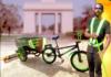 Ghanaian invents sweeping bike