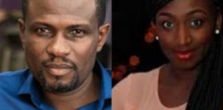 L-R: Mark Okraku Mantey and Josephine Adjei-Tenkorang