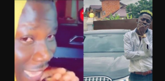 Stonebwoy and Shatta Wale show off their cars