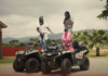 Stonebwoy and Emmanuel Adebayor in Putuu music video