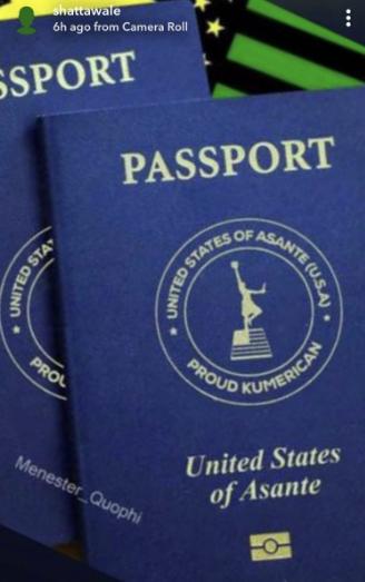 Shatta Wale acquires his Kumerica passport