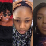 L-R: Lydia Forson, Rosemond Brown aka Akuapem Poloo and Yvonne Okoro